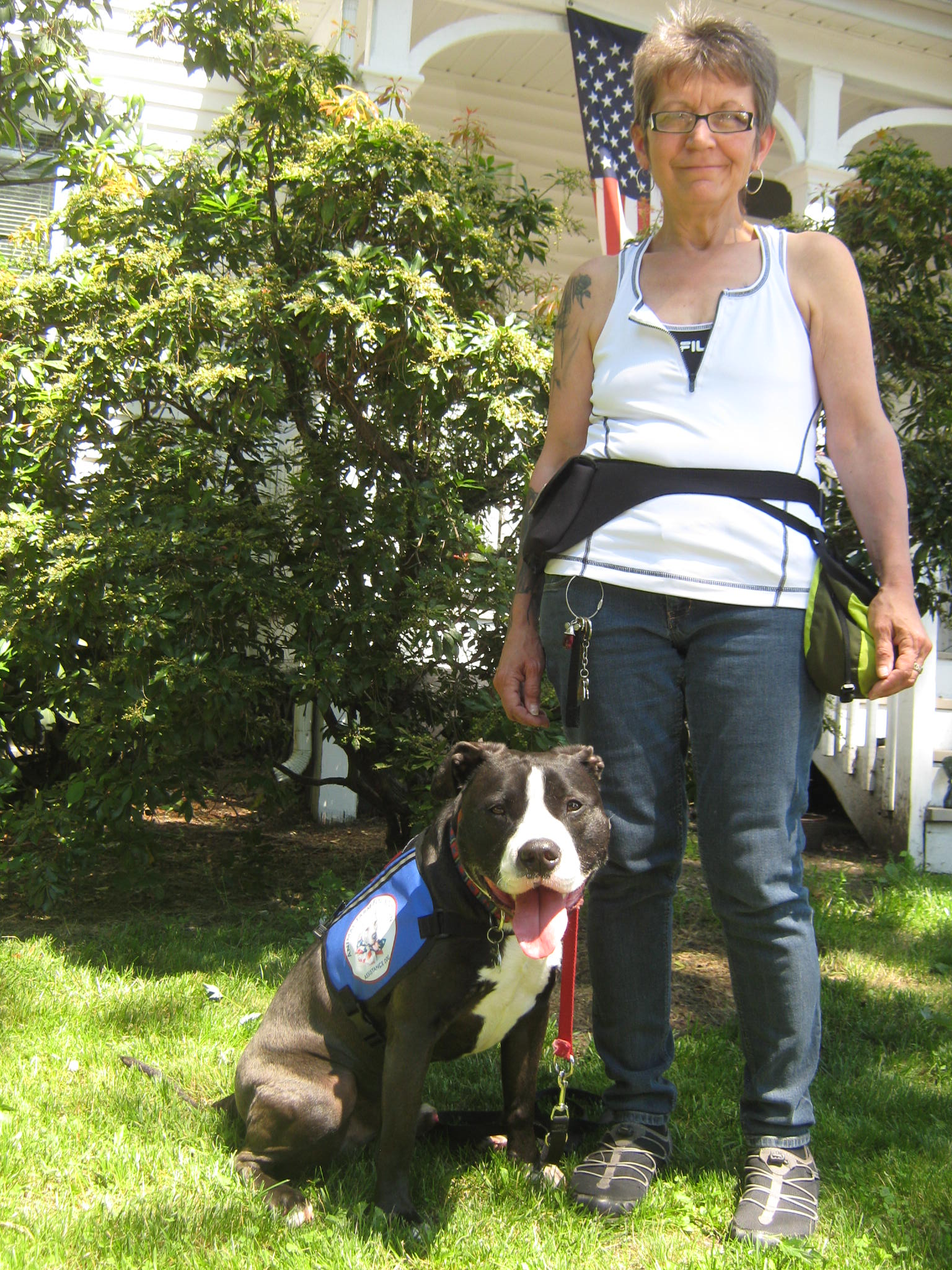 """From Shelters to Service: """"Pit Bull"""" Dogs Change Lives as Assistance Dogs"""