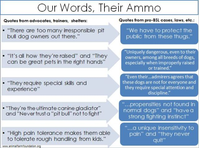 our words their ammo