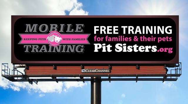 Keeping Pets with Their Families: Pit Sisters Mobile Dog Training Program